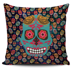 Mex Calavera Sugar Skull Pillow Cover Series (4 Variants) - Trendy Staples