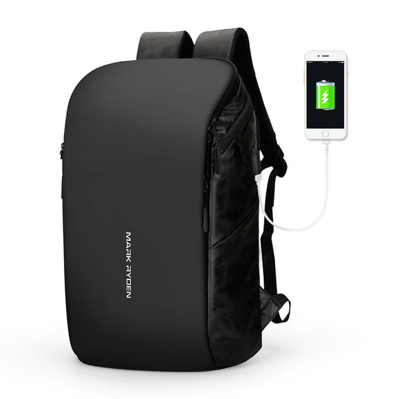 Mark Ryden Capri Series Water Resistant 15.6 Inch Laptop Backpack With USB Charging Port - Trendy Staples
