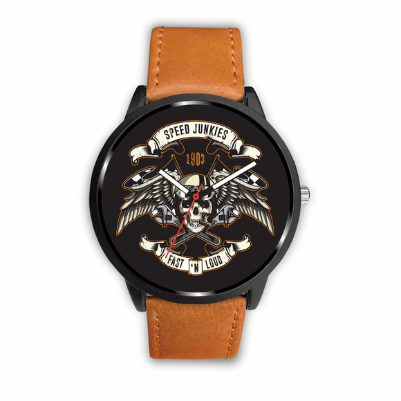 Biker Speed Junkie Fast N Loud Watch - Trendy Staples
