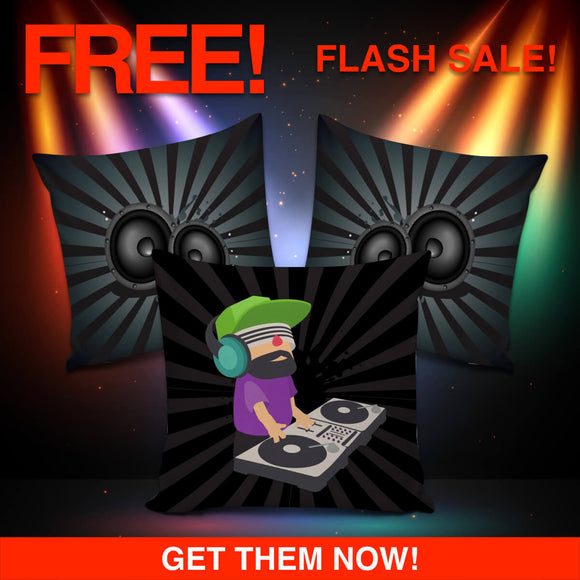 DJ EDM Rave Speakers & Deejay Blast Set (FLASH OFFER) - Trendy Staples
