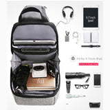 Mark Ryden Metro Series Anti-Theft Water-Resistant Cross Shoulder Bag with USB Charging Port - Trendy Staples