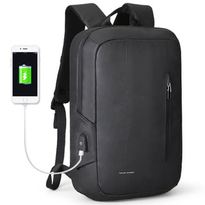 Mark Ryden Pulse Series Water-Resistant 15.6 Inch Laptop Backpack With USB Charging Port - Trendy Staples