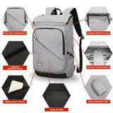 "Mark Ryden Rad Series 2 High Capacity Travel Backpack Fit For 15.6"" Laptop With USB Charging Port - Trendy Staples"