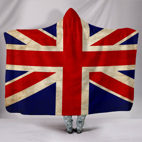 Custom Hoodie Blanket - English Flag - Trendy Staples