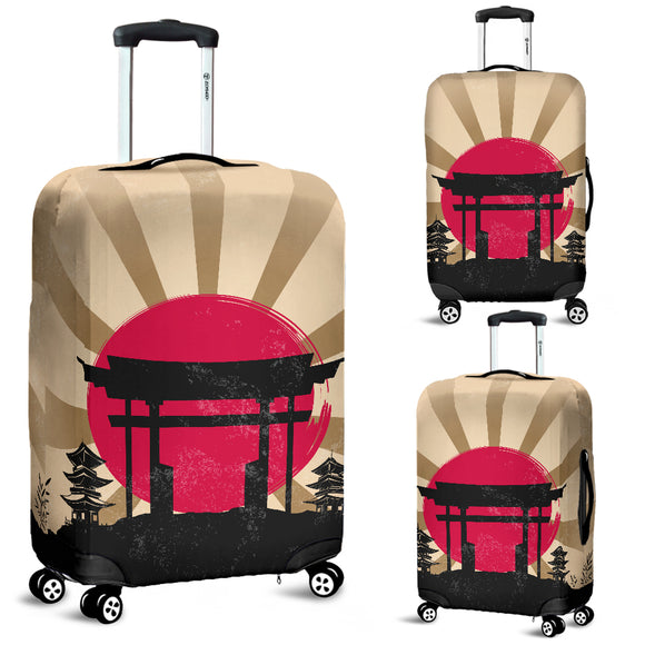 Japanese Torii Gateway Luggage Cover - Trendy Staples