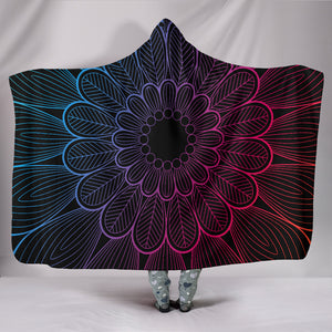 Mandala Boho Style Hooded Blanket (2 Variants) - Trendy Staples