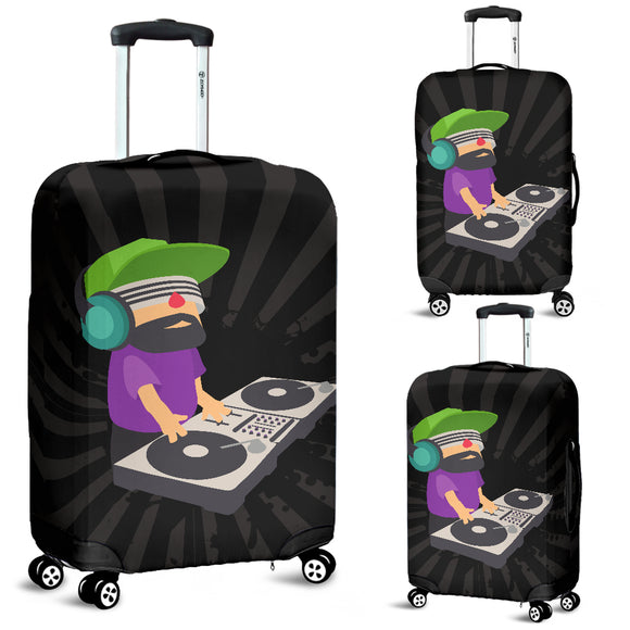DJ EDM Rave Deejay Blast Luggage Cover - Trendy Staples