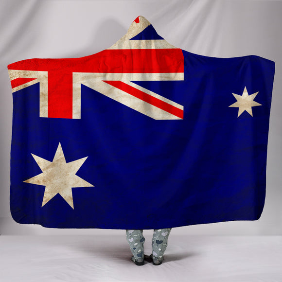 Custom Hoodie Blanket - Australian Flag - Trendy Staples
