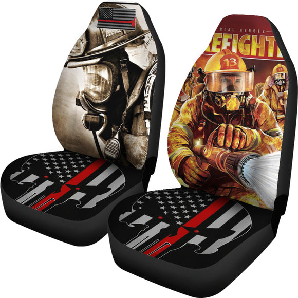 Firefighter car seats cover - Trendy Staples
