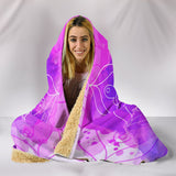 Mandala Watercolour Hooded Blanket (4 Variants) - Trendy Staples