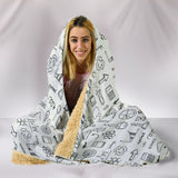 I love Science Hooded Blanket (4 Colour Variants) - Trendy Staples