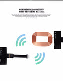 Universal Qi Wireless Standard Smart Charging Adapter Receptor Coil For iPhones Androids & Windows Phones - Trendy Staples