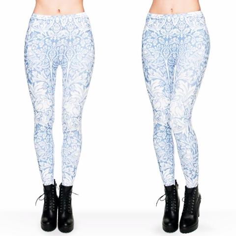 Rabbits Printed Leggings - Trendy Staples