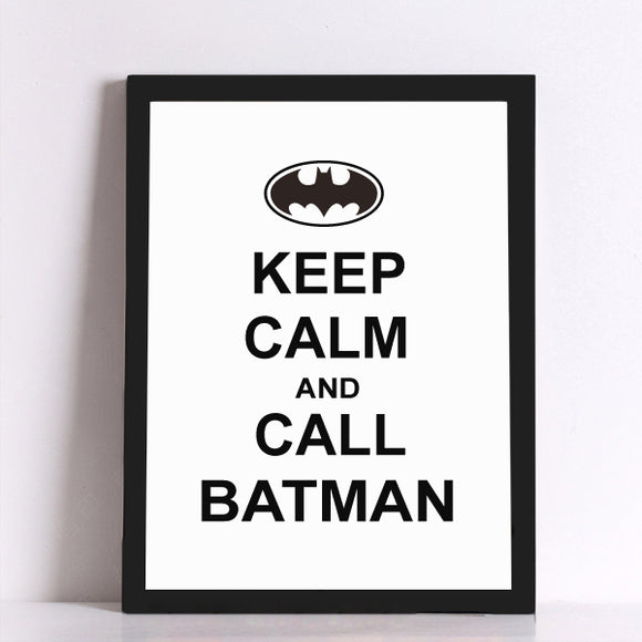 Call Batman Canvas Art Print - Trendy Staples