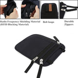Travel RFID Blocking Neck Pouch Passport Holder - Trendy Staples