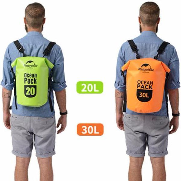 Naturehike Ocean Pack  20L / 30L Waterproof Backpack - Trendy Staples