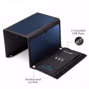 20W Portable Solar Power Bank Universal For Apple Android Mobile Devices - Trendy Staples
