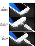 Magnetic Micro USB Charging Cable Data Transfer For Smart Phone & Tablet Devices - Trendy Staples