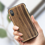 Yosemite Marble & Wood iPhone X Protection Case (4 Variants) - Trendy Staples
