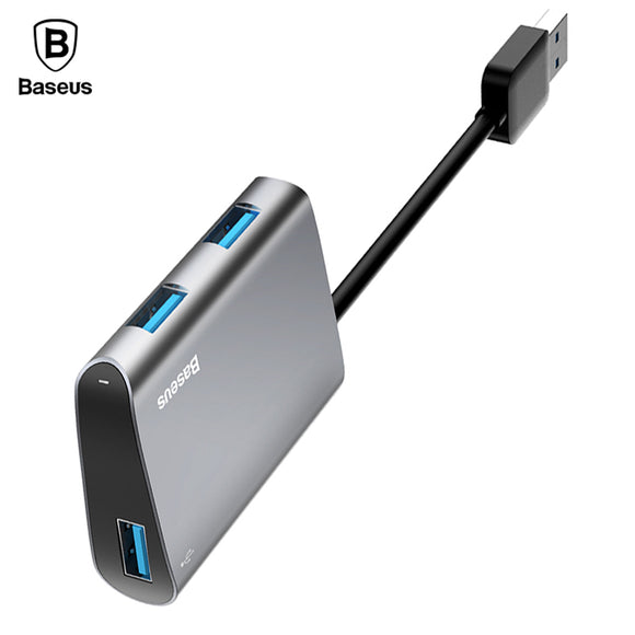 Baseus Universal Multi Port OTG USB 3.0 HUB 5Gbps High Speed Adapter For Laptops & Computers - Trendy Staples
