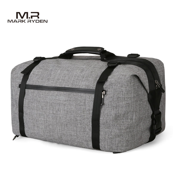 Mark Ryden Explorer Series Water-Resistant Travel Triple Duffel / Shoulder Bag / Backpack - Trendy Staples