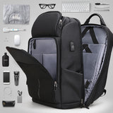 Mark Ryden Pac Series Anti-Theft Water-Resistant 15-17 Inch Laptop Luggage Backpack With USB Charging Port - Trendy Staples