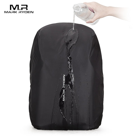 Mark Ryden Hasu Lotus Waterproof Rain Cover Fits 15.6 Inch Laptop Backpack - Trendy Staples