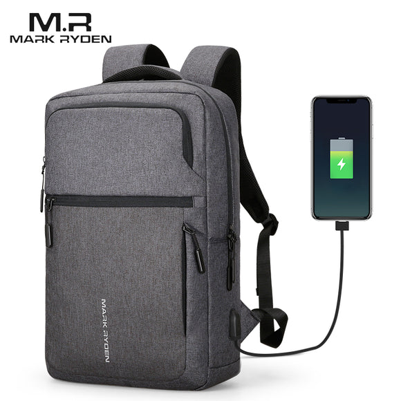 Mark Ryden Ara Series Water Resistant 17 Inch Laptop Backpack With USB Charge Port - Trendy Staples