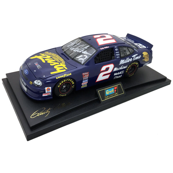 "Rusty Wallace ""Adventures of Rusty"" Die Cast *Autographed"