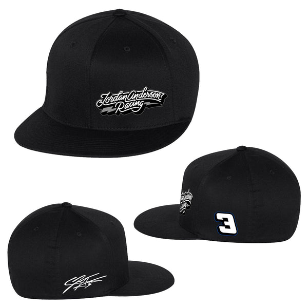 Jordan Anderson Racing Flat Bill Hat