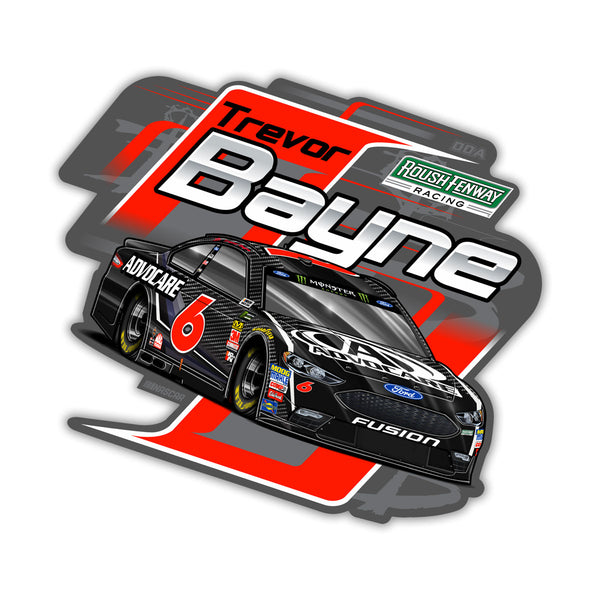 "Trevor Bayne ""Edge"" Decal"