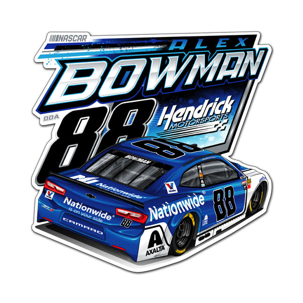 "Alex Bowman ""Showman"" Decal"
