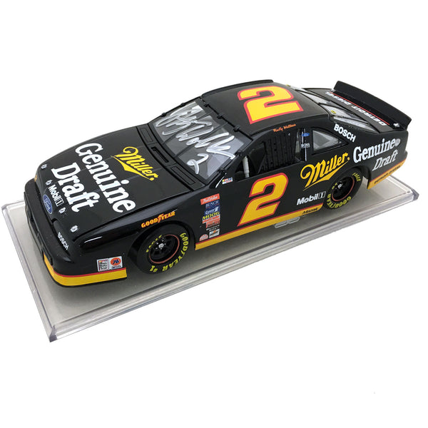 "Rusty Wallace ""Genuine Draft"" Die Cast *Autographed"