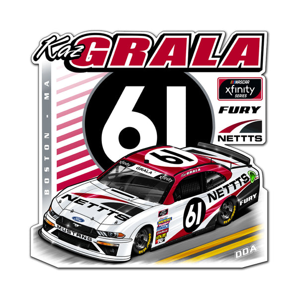"Kaz Grala ""Streamline""  Decal"