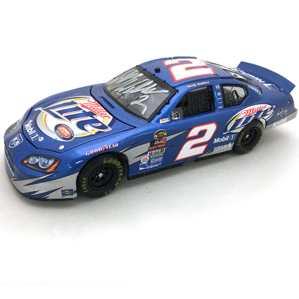 "Rusty Wallace ""Greetings from STL"" Die Cast *Autographed"