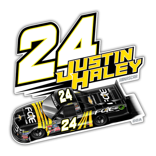 "Justin Haley ""Highlight"" Decal"