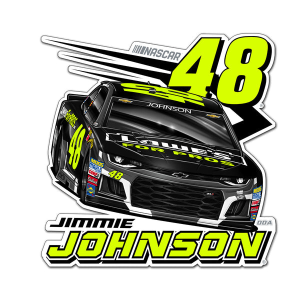 "Jimmie Johnson ""Florescent"" Decal"