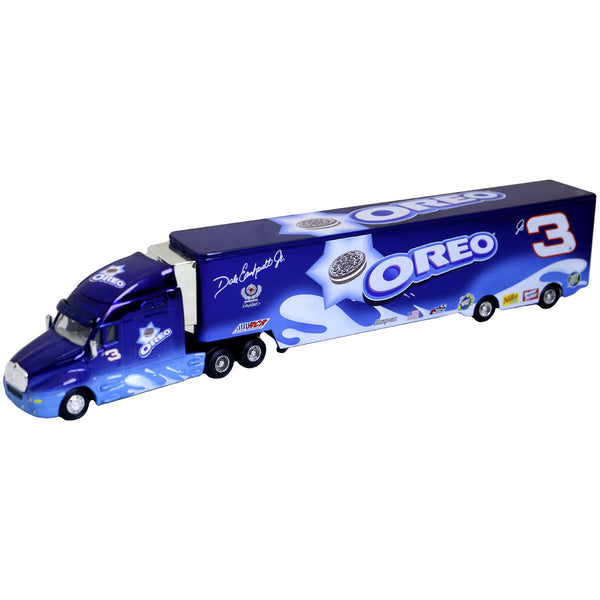 "Dale Earnhardt Jr. 2002 ""Oreo Color Chrome Hauler"" Die Cast"
