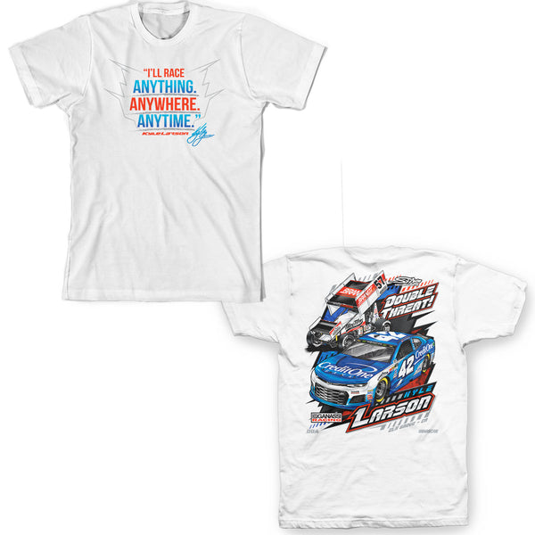 "Kyle Larson ""Double Threat"" T-Shirt"
