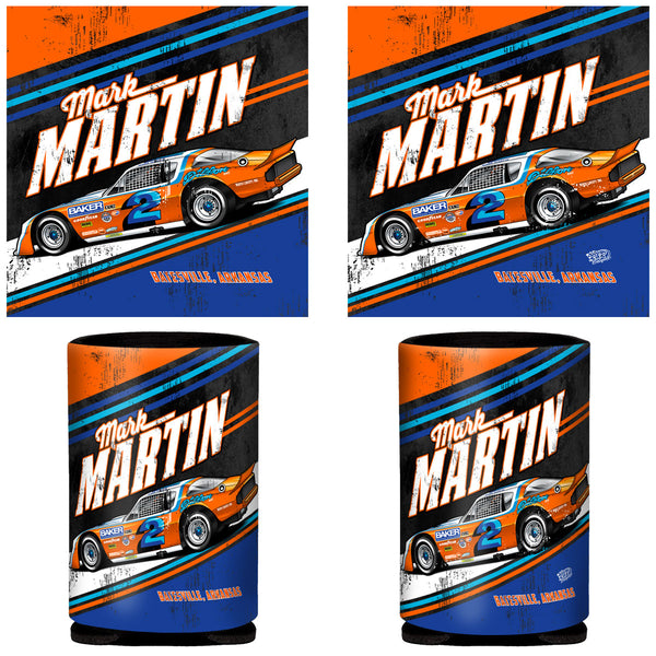 "Mark Martin ""Retro Deuce"" Can Coozie"