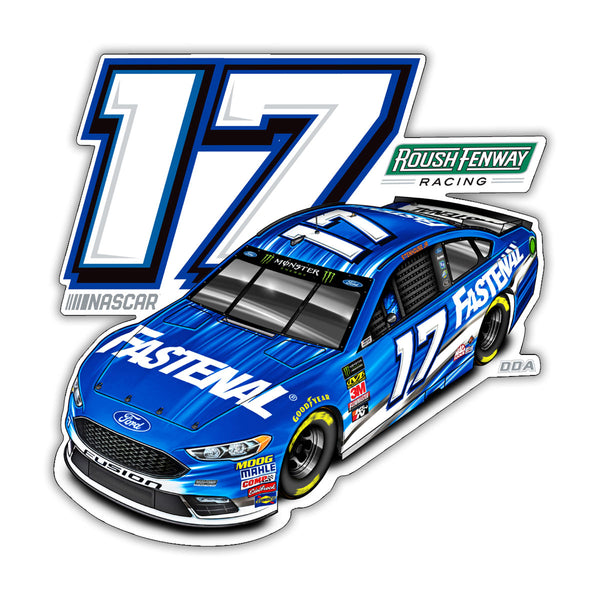 "Ricky Stenhouse Jr. ""Momentum"" Decal"