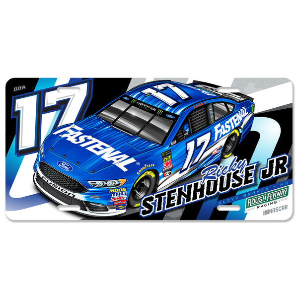 "Ricky Stenhouse Jr. ""Momentum"" License Plate"