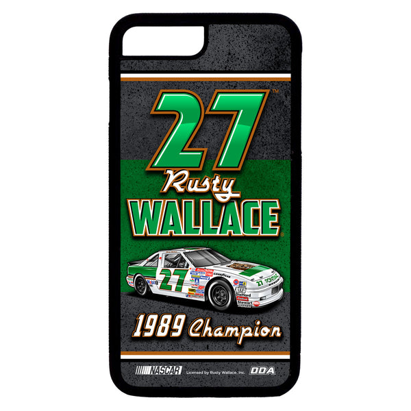 "Rusty Wallace ""1989 Champion"" iPhone Case"