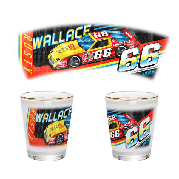 "Rusty Wallace ""66"" Shot Glass"