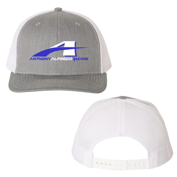 "Anthony Alfredo ""AAR"" Heather Grey Mesh Snapback Hat"