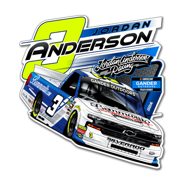 "Jordan Anderson ""Ready to Roll"" Decal"