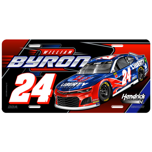 "William Byron ""Liberty"" License Plate"