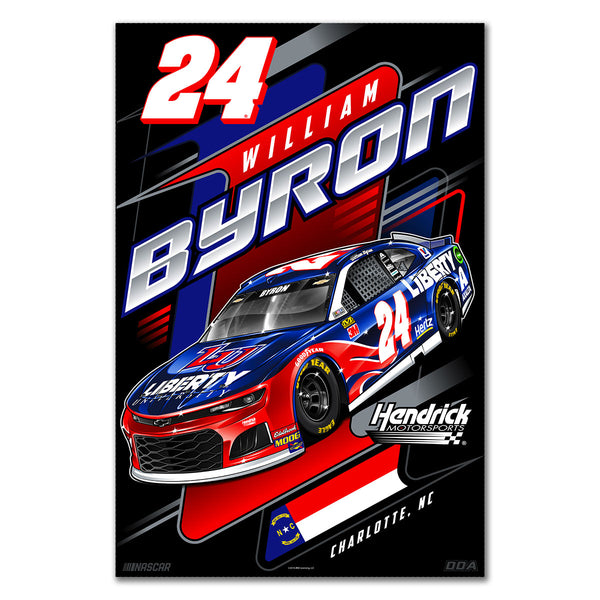 "William Byron ""Liberty"" Poster"