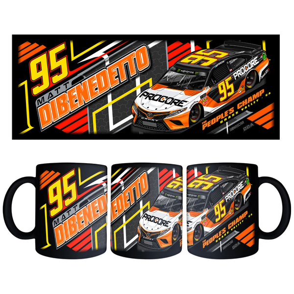 "Matt DiBenedetto ""Sourcing It"" Black Mug"
