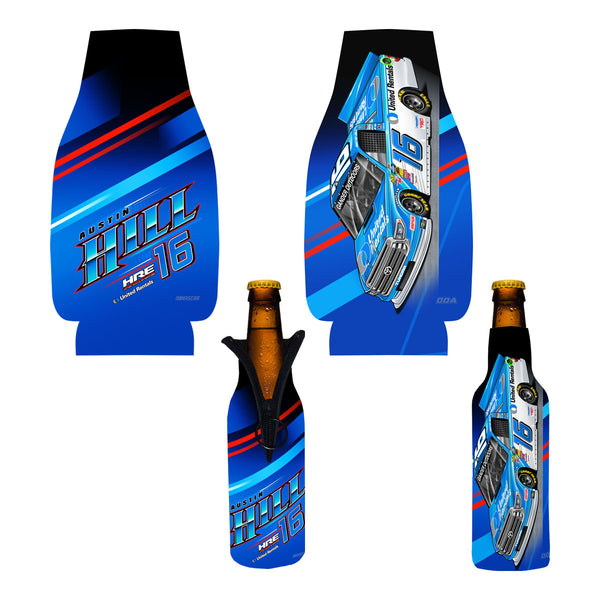 "Austin Hill ""United"" Bottle Coozie"